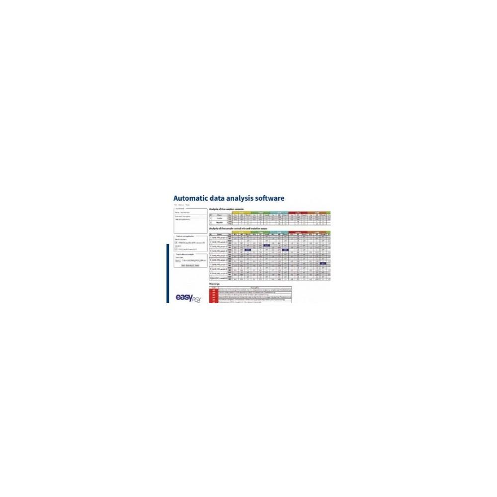 EasyPGX analysis software - Oprogramowanie do analizy wyników Real Time PCR