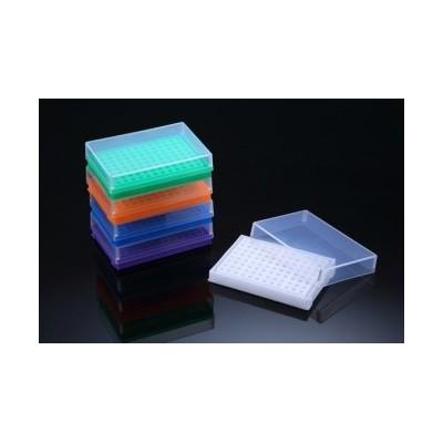 PCR Tube Rack, statyw na probówki do PCR, PP, 8x12 (96 otworów), 5 kolorów, SPL, 10 szt.