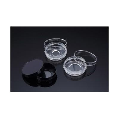 Confocal Dish, Adhesion Type, Clear, PS/Glass, 35x10mm, 13Ø , Confocal Region 1.33cm3, external grip, Sterile, SPL, 5 szt. w op