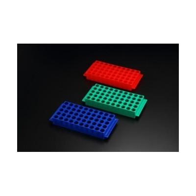 Cryovial Rack, PP, 3 Colors, 5x10, SPL - Statyw na krioprobówki, 50 miejsc