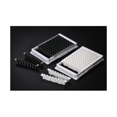 Immunoplate, 8 well strip, PS, White, UNIBINDING, 85.4x127.6mm, SPL, 100 szt.