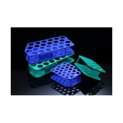 "Snap Tube Rack for 15ml snap tubes with 25 holes, SPL - Statywy na probówki 15ml typu ""snap"", 25 miejsc"
