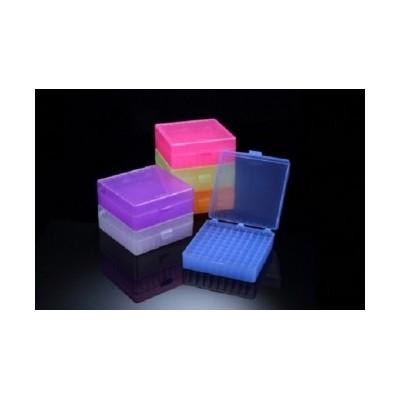 Storage Box for 1.5ml microtubes, PP, 10x10(100holes), 5 colors, Autoclavable, SPL, 30 szt.