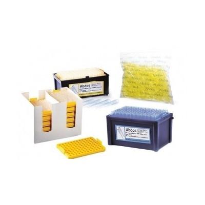 LAST DROP, low retention racked micro tips, 2 - 200 μl, (bevelled graduated) sterile, 96szt.x 10 pudełek