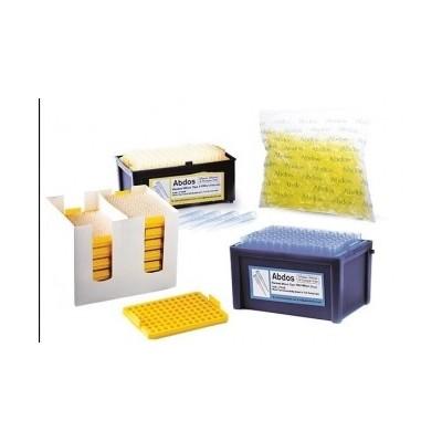 REFILL Micro tips, 2-200 μl (natural) (ultra point tip orifice), 96szt. x 10tacek