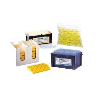 REFILL Micro tips, 2-200 μl (yellow)  (ultra point tip orifice), 96szt. x 10tacek