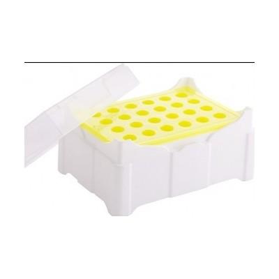 Frosty Mate Colour Change Freezer Rack, PP, 24 Place - Statyw z wkładem żelowym, na mikroprobówki, zmieniający kolor