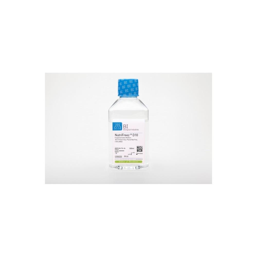 NutriFreez® D10 Cryopreservation Medium without Phenol Red - Roztwór do mrożenia komórek, bez czerwieni fenolowej