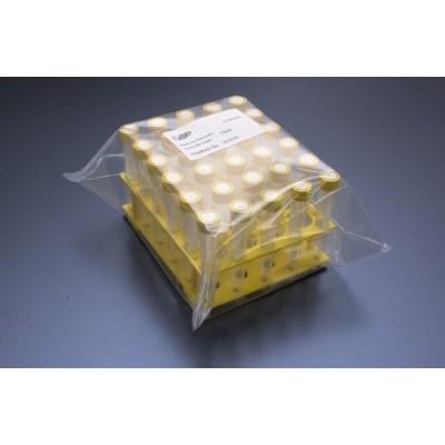 Probówki 15 ml - 30 sztuk w żółtym statywie, TPP, 10 statywów