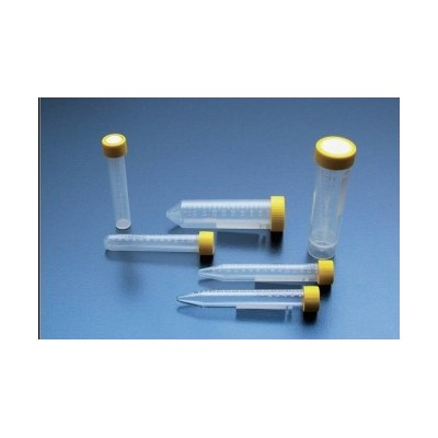 Probówki wirownicze 13 ml płaskie dno (PP), 40 szt. w op., 800 szt. w kartonie