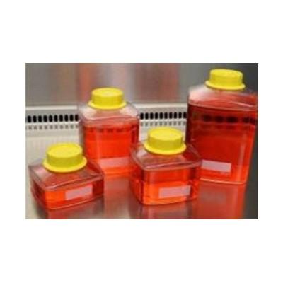 Butelka 250 ml z nakrętką, do filtrów próżniowych, do przechowywania płynów, podłoży, 24 szt.