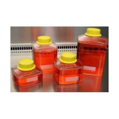 Butelka 500 ml z nakrętką, do filtrów próżniowych, do przechowywania płynów, podłoży, 36 szt.