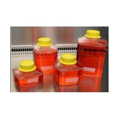 Butelka 1000 ml z nakrętką, do filtrów próżniowych, do przechowywania płynów, podłoży