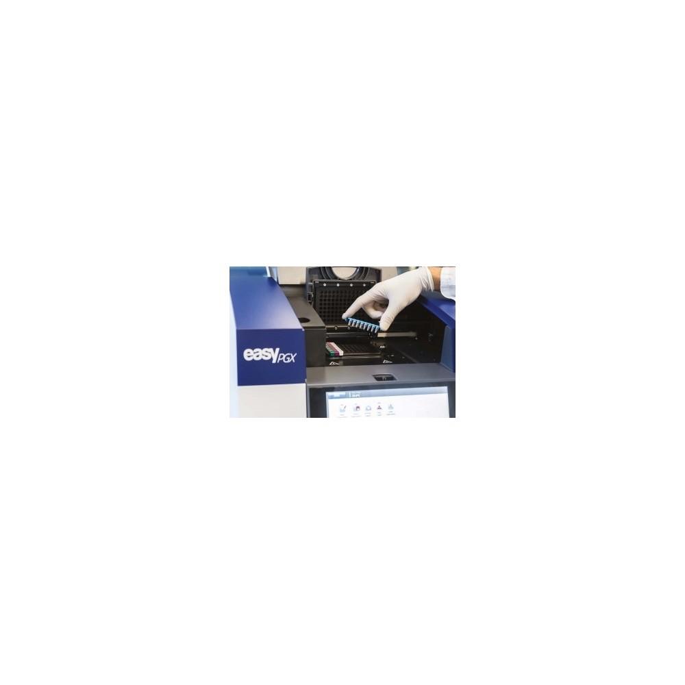 EasyPGX® ready BRAF, CE IVD - Zestaw do detekcji mutacji somatycznych BRAF techniką RT-PCR, 48 testów